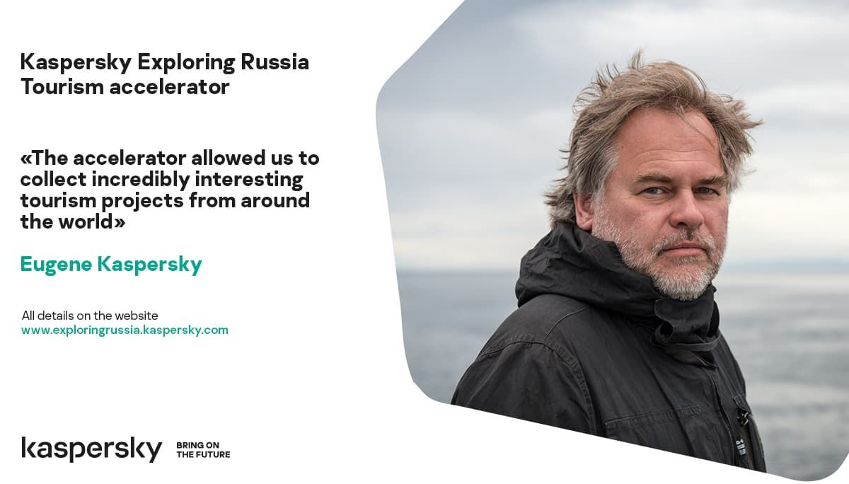 Eugene Kaspersky about Kaspersky Exploring Russia