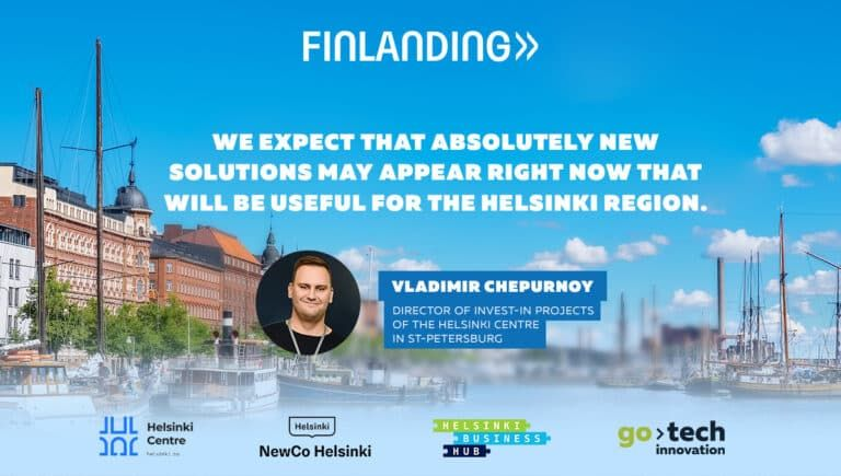 Startups know no boundaries. Finlanding is now open for applicants