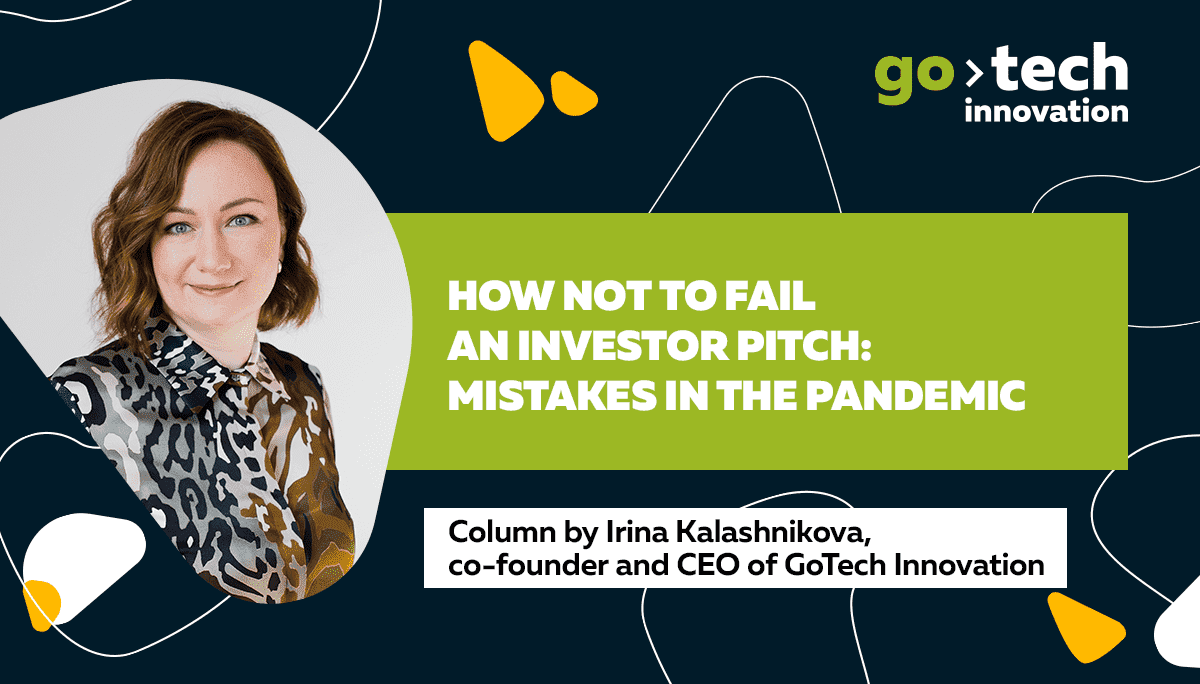 How not to fail an investor pitch: mistakes in the pandemic
