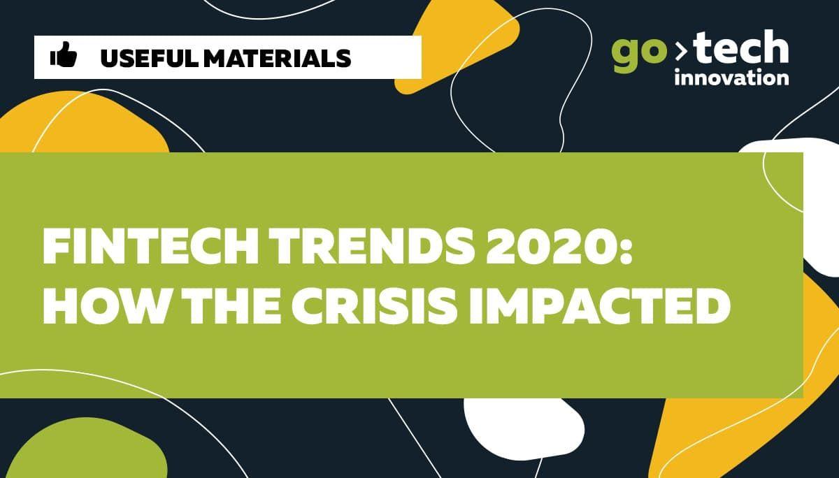 Fintech trends 2020