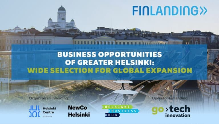 Greater Helsinki business opportunities: wide selection for global expansion