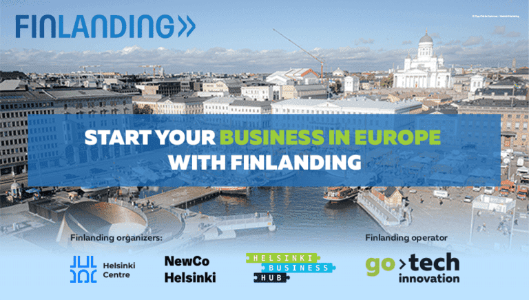 Finlanding program starts on August 2 with the application period until September 20